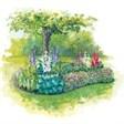 Красная Талка - иконка «сад» в Геленджике